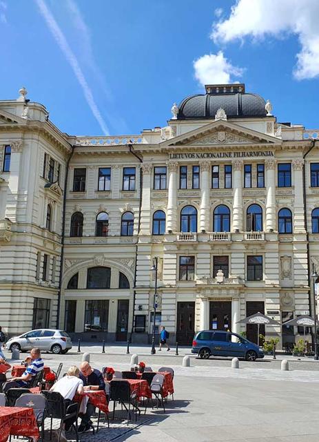 Lietuvos Nacionalinė  Filharmonija Vėdinimo sistemos